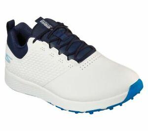 Skechers GO GOLF Elite V.4 Golf Shoes Mens White/Navy 54552 - New 2021
