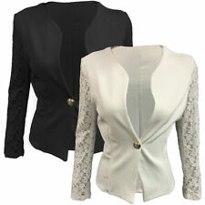Polyester Floral Single Breasted Suits & Tailoring for Women