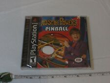 Austin Powers Pinball (Playstation) NEW Video game PS1 playstation TEEN game NOS