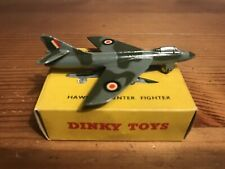 DINKY TOYS , RAF, HAWKER HUNTER FIGHTER, NO. 736