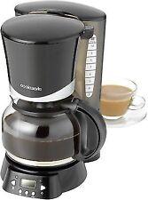 Cookworks Filter Coffee Maker with Timer-Black