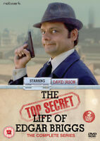 The Top Secret Life of Edgar Briggs DVD (2015) David Jason cert 12 2 discs