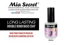 Mia Secret PROFESSIONAL NAIL SYSTEM - LONG LASTING Double Bond Base Coat 0.5 oz