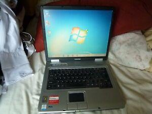 Toshiba Satellite Pro L10 - Windows Vista 1Gb RAM 115GB HDD DVD 15in Office 16