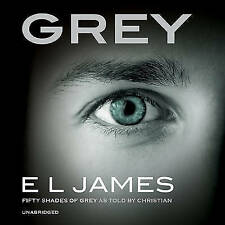 Grey: 'Fifty Shades of Grey' as told by Christian, James, E L, New, Audio CD