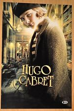 "CHLOE MORETZ SIGNED 12X18"" HUGO CABRET PROOF & BAS BECKETT#C03690 KICK ASS"