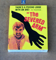THE SEVERED ARM BLU-RAY WITH SLIPCOVER VINEGAR SYNDROME BRAND NEW