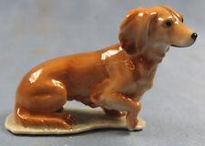 Dackel hund Kaiser porzellanfigur Porzellan figur dachshund 1970