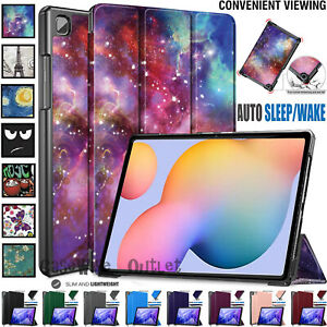 Leather Magnetic Smart Stand Case Cover For Samsung Galaxy Tab S6 Lite 10.4 2020
