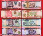 MOZAMBIQUE SET 50000 to 500000 Meticais 1993 2003 Pick 138 139 141 142 SC UNC