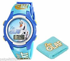 Disney Frozen I'm Olaf I Love All Things Warm LCD Watch & Wristband Gift Set