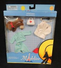 """Madeline 8"""" Poseable Doll Veterinarian Play Adventure Outfit ~ #84300 ~ 2002 Nib"""