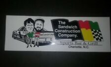 The Sandwich Construction Company. Sports Bar &Grill ,Charlotte, N.C. 90`s Stick