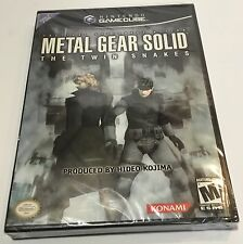NINTENDO GAMECUBE METAL GEAR SOLID THE TWIN SNAKES! NEW/SEALED Y-FOLD'S! RARE!