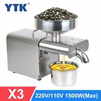 Automatic Oil Press Machine Flaxseed Plant Essential Oil Extractor Cold Pressoil