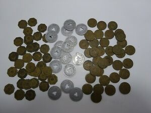 Collection 80+ POOL/Billiard Tokens All from Omaha, Neb. CLUB PAXTON TUXEDO