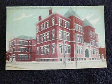 Early 1900's The Manual Training High Schools in Louisville, Ky Kentucky PC