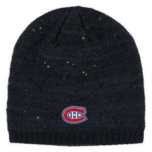 Montreal Canadiens NHL Adidas Women's Black Beanie