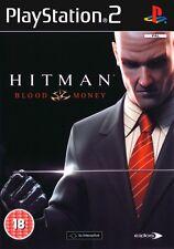 * PLAYSTATION 2 Game * HITMAN: BLOOD MONEY * N * PS2