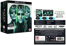 THE COMPLETE MATRIX TRILOGY 1999-2003: +RELOADED+REVOLUTIONS 4K UHD+BLU-RAY