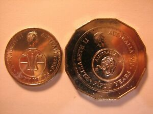 2016 change over 10c and 50c coins from mint bags.