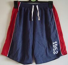Navy & red shorts age 9
