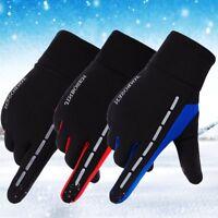 Men Women Winter Thermal Touch Screen Gloves Outdoor Sport Ski Gloves Waterproof