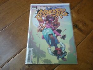 WEST COAST AVENGERS #1 (2018 Series) Marvel Comics 'KELLY THOMPSON' VF/NM
