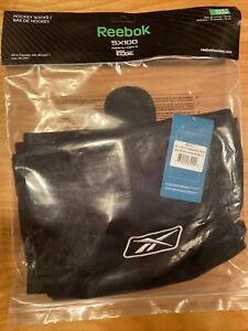 "REEBOK SX100 Hockey Socks Adult 30"" - Black - New in Package !"