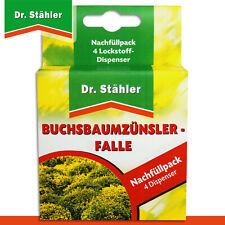Dr. Stähler Nachfüllpack für Buchsbaumzünsler-Falle (4 Dispenser)