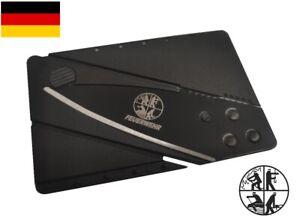 ★ Feuerwehr Kreditkartenmesser Taschenmesser Bundeswehr Luftwaffe Polizei SWAT ★