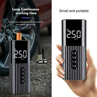 Mini Portable Air Pump Wireless Electric Tire Inflator Ball Bicycle Car Tire too