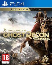 Ghost Recon Wildlands Edition Gold Jeu Ps4 Ubisoft