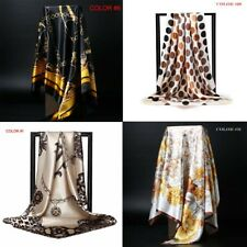 "Women's Scarf Silk felling Square Head Shawl Scarfs 35""*35"" (63 Styles)"