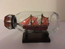 Ship Boat In Glass Bottle