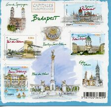 TIMBRE FRANCE NEUF BLOC  FEUILLET N° F4538 ** CAPITALES EUROPEENNES BUDAPEST