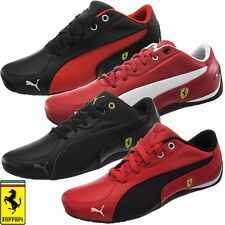 Puma Drift Cat 5 SF Scuderia Ferrari black red white Leather Men's Sneakers shoe