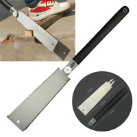 Double Edge Razor Saw Cutter Japanese Style Pull Saw Teeth Yard Gardening Tool