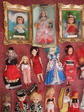 HTF Vintage Collectors dolls national costume 35 dolls 1960s