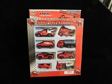 Kid Gear 2009 Base4 Diecast Emergency Vehicles lot in Box
