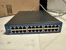 Adtran Netvanta 1534 1702590G1 24-Port Gigabit Ethernet Switch 2.5gbps Sfp