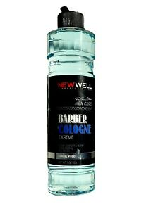 NEW WELL LUXURY BARBER COLOGNE MEN AFTERSHAVE SPLASH SANDALWOOD FRAGRANCE 400ML