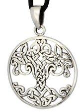 Keltischer Baum Varuna Anhänger Silber Gothic Schmuck - NEU