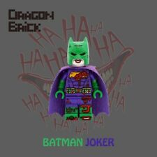 **NEW** DRAGON BRICK Custom Batman Joker Lego Minifigure