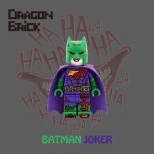 **NEW** DRAGON BRICK Custom Batman Joker Lego Minifigure