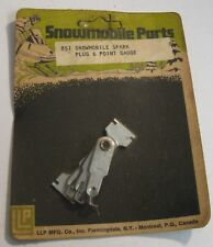 SPARK PLUG & POINT GAP GAUGE LLP BRAND 851 SNOWMOBILE ATV SMALL ENGINE NOS