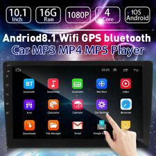 10.1'' 1Din In-dash Car Stereo MP5 Player Bluetooth AUX Audio FM Radio Head Unit