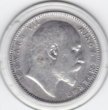 Sharp  1905   British  India  One  Rupee   Silver (91.7%)  Coin