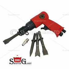 "5Pc 150mm 6"" Air Hammer Kit With Scraper Body Panel Pneumatic Compressor CT0676"