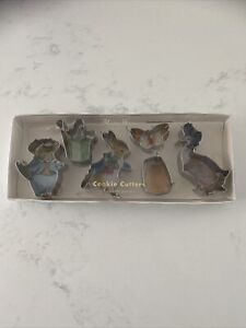 Meri Meri Peter Rabbit & Friends Mini Cookie Cutters x 6 Partyware